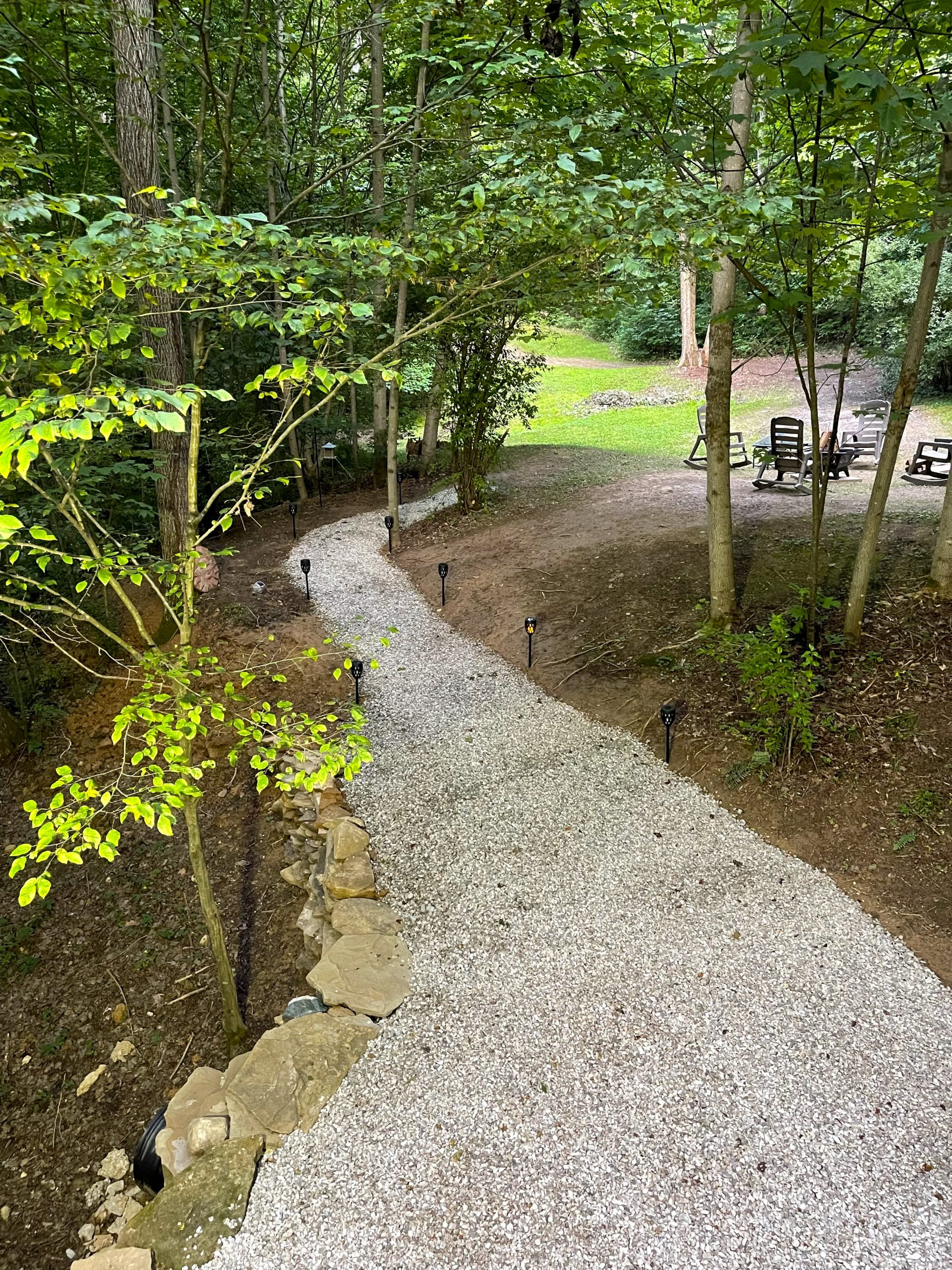 Path To Fire Pit